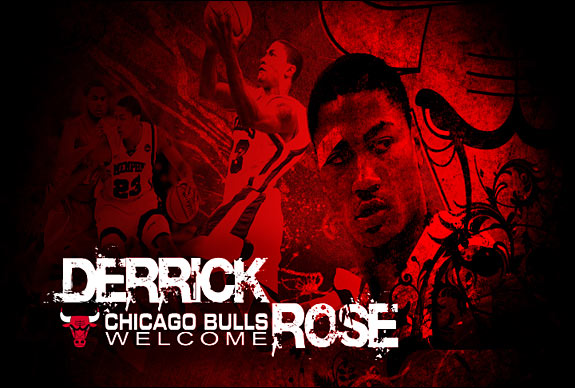 derrick rose chicago bulls. images chicago bulls derrick